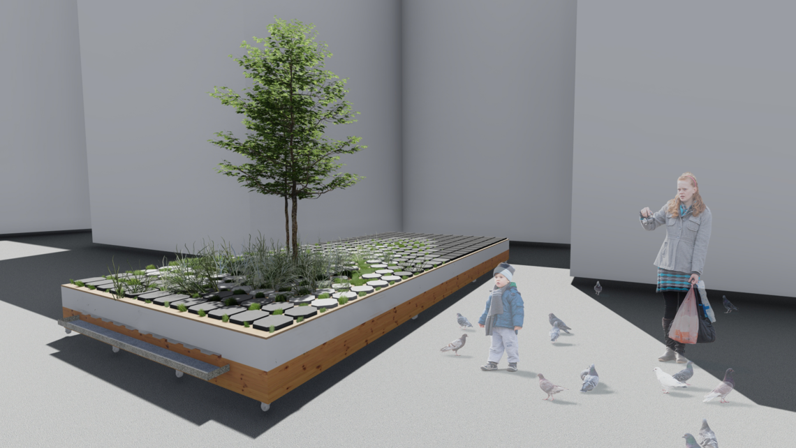 Green infrastructure render