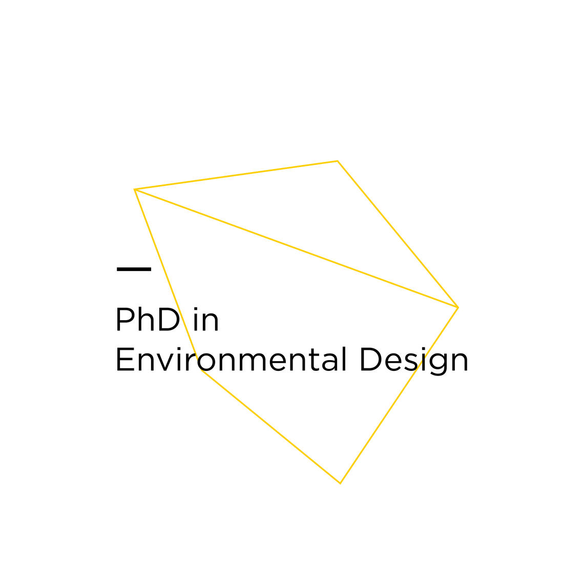 PhD in Environmental Design