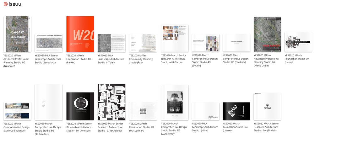 Studio showcase on Issuu